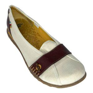The North Face Women's Beige/Brown Casual Slip On Flats/Shoes Size 10